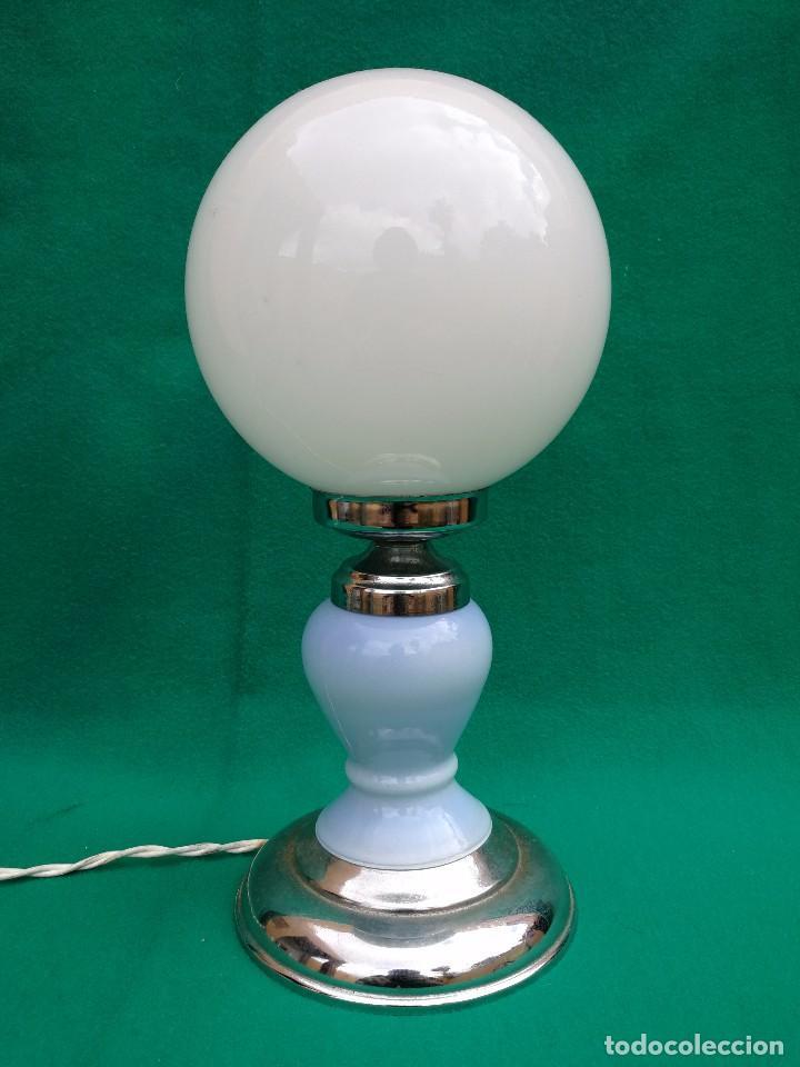 LÁMPARA MESA RETRO SPACE AGE VINTAGE (Vintage - Lámparas, Apliques, Candelabros y Faroles)