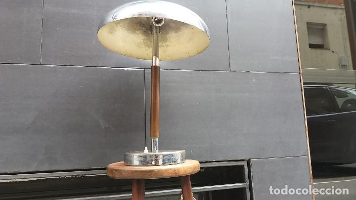 Vintage: Enorme Lámpara vintage años 50 para mesa, aparador, cómoda...Pieza de lujo. Muy alta gama. - Foto 3 - 114872378