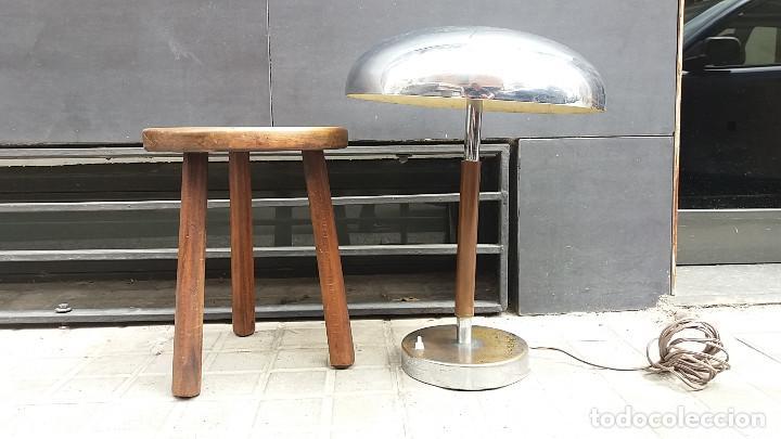 Vintage: Enorme Lámpara vintage años 50 para mesa, aparador, cómoda...Pieza de lujo. Muy alta gama. - Foto 5 - 114872378