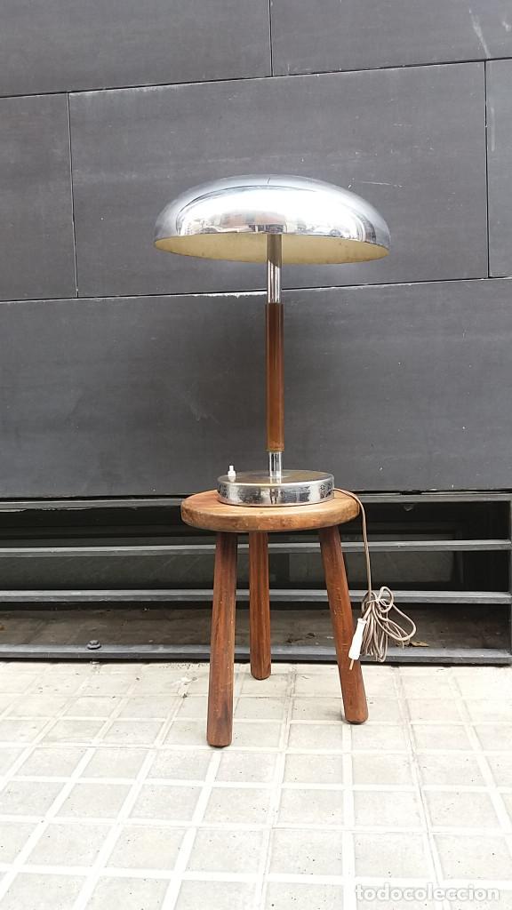 Vintage: Enorme Lámpara vintage años 50 para mesa, aparador, cómoda...Pieza de lujo. Muy alta gama. - Foto 6 - 114872378