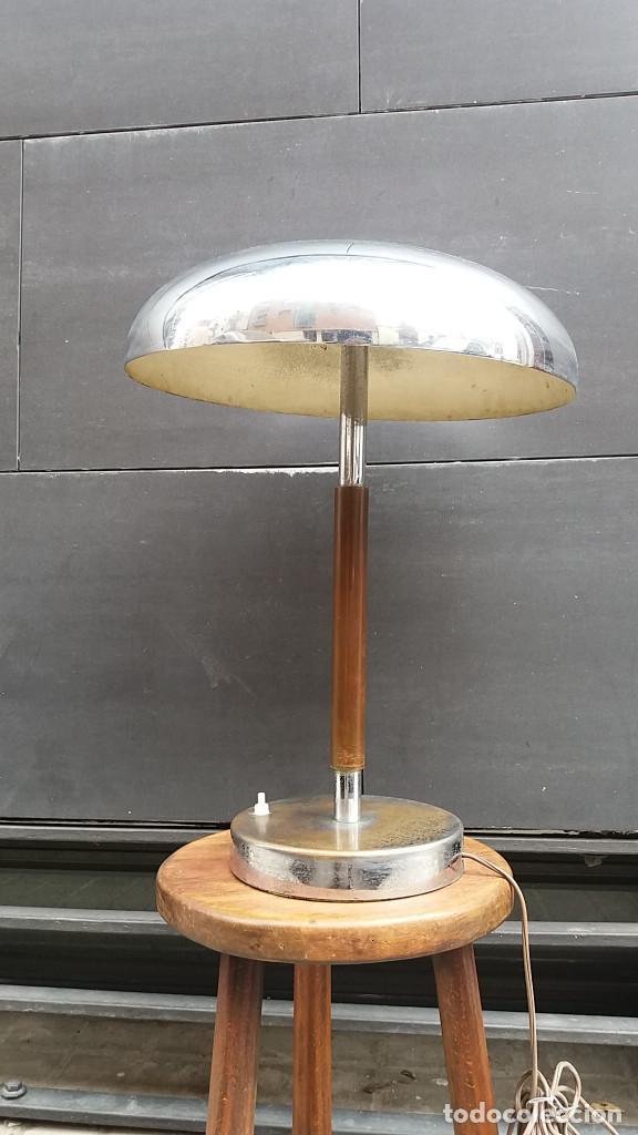 Vintage: Enorme Lámpara vintage años 50 para mesa, aparador, cómoda...Pieza de lujo. Muy alta gama. - Foto 7 - 114872378
