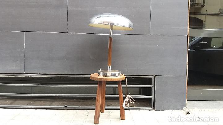 Vintage: Enorme Lámpara vintage años 50 para mesa, aparador, cómoda...Pieza de lujo. Muy alta gama. - Foto 8 - 114872378
