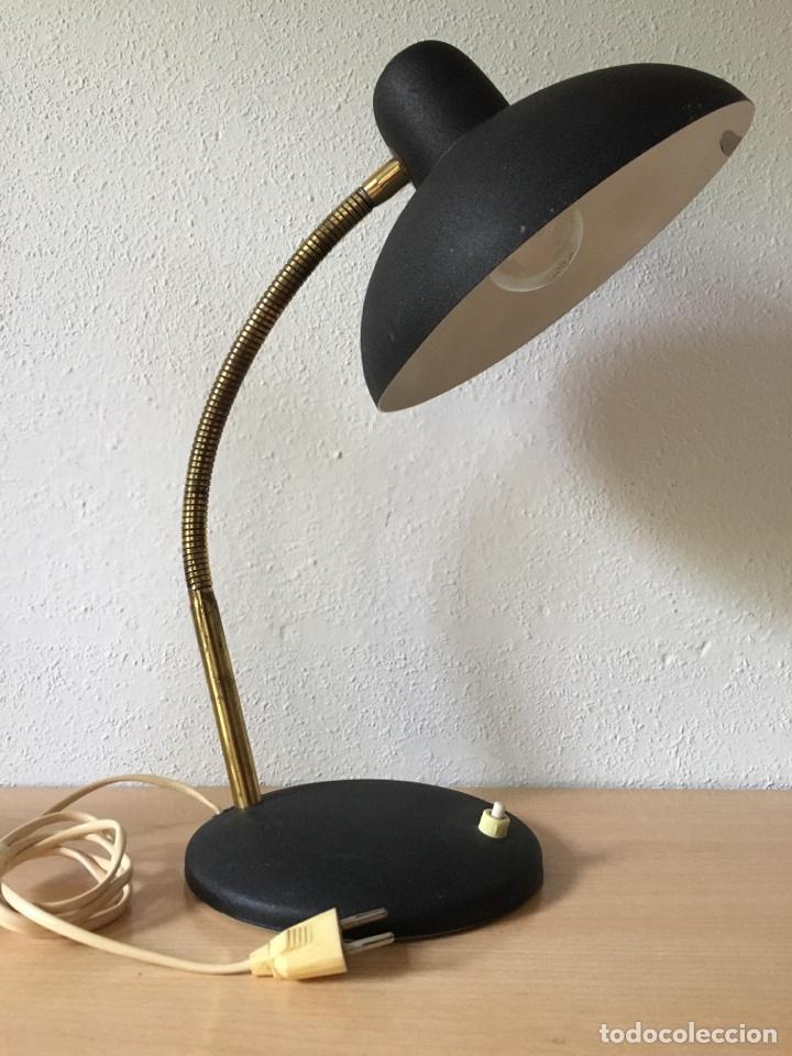 ANTIGUO FLEXO- LAMPARA SOBREMESA- AÑOS 50 (Vintage - Lámparas, Apliques, Candelabros y Faroles)