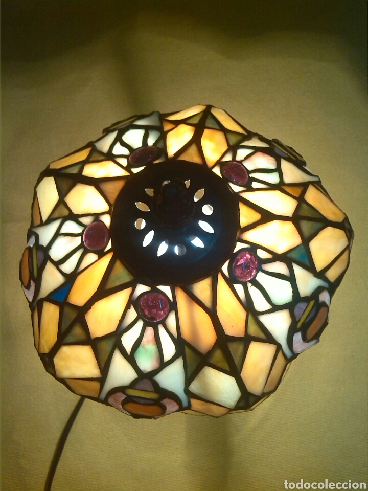 Vintage: Lampara Estilo Tiffany - Foto 2 - 86446291