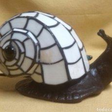 Vintage: LAMPARA CARACOL ESTILO TIFFANY. Lote 86448202