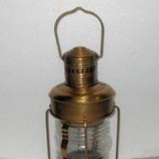 Vintage: LAMPARA DE BARCO. Lote 88789788