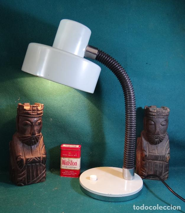 LAMPARA FLEXO MESA VINTAGE. (Vintage - Lámparas, Apliques, Candelabros y Faroles)