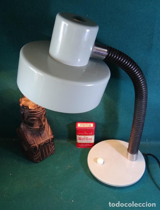 Vintage: LAMPARA FLEXO MESA VINTAGE. - Foto 2 - 89670192