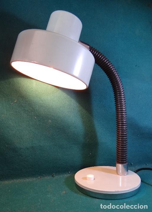 Vintage: LAMPARA FLEXO MESA VINTAGE. - Foto 6 - 89670192