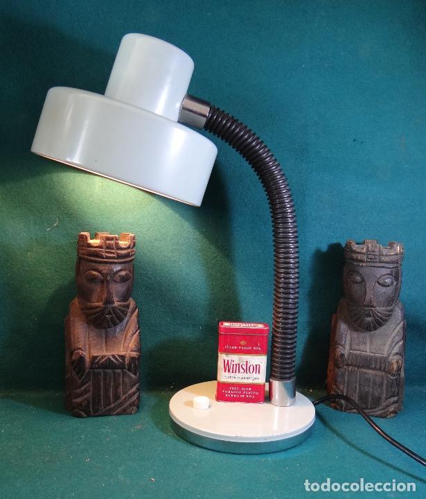Vintage: LAMPARA FLEXO MESA VINTAGE. - Foto 7 - 89670192