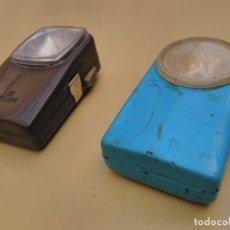 Vintage: LOTE 2 LINTERNAS PETACA CEGASA - TXMIST. Lote 89770292