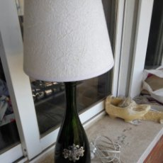 Vintage: LAMPARA, BOTELLA CAVA, DE LA VIUDA,. Lote 92313699