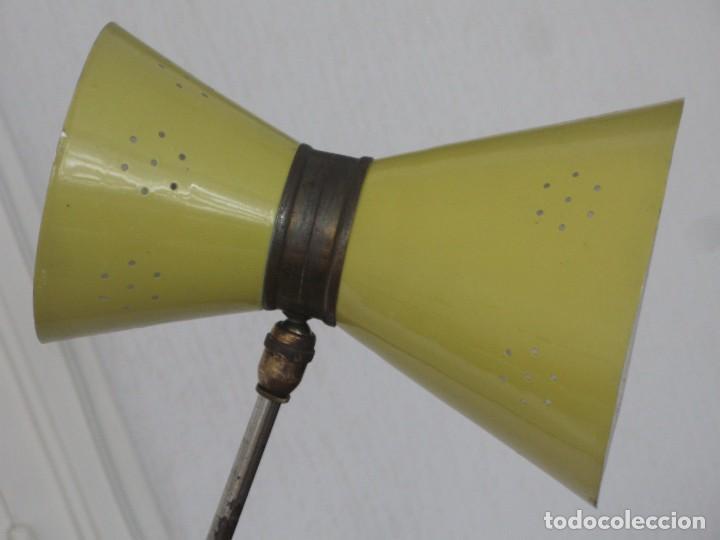 Vintage: Lámpara diábolo de pie vintage años 50 LUNEL para sillón sofá cama.....clásico diseño francés - Foto 12 - 93097185