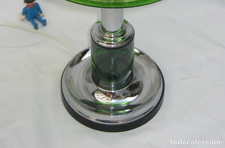 Vintage: GRAN LAMPARA SETA AÑOS 60 SPACE AGE ORIGINAL CRISTAL MURANO Y METAL CROMO DISEÑO ITALIA - Foto 5 - 93388970