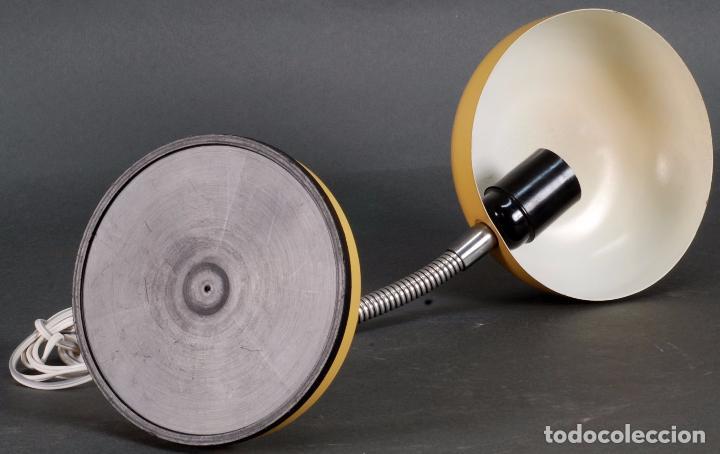 Vintage: Lámpara flexo metal cromado y brazo flexible años 70 - Foto 4 - 93683165