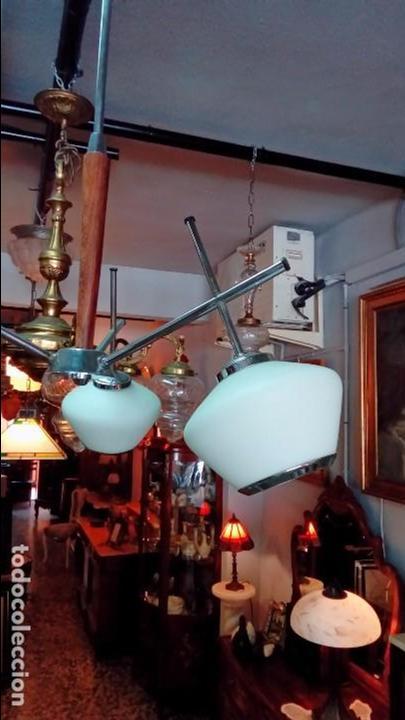 Vintage: lampara de techo space age - Foto 2 - 94132805