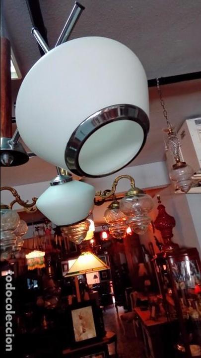Vintage: lampara de techo space age - Foto 3 - 94132805