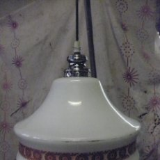 Vintage: LAMPARA CRISTAL VINTAGE. Lote 95108299
