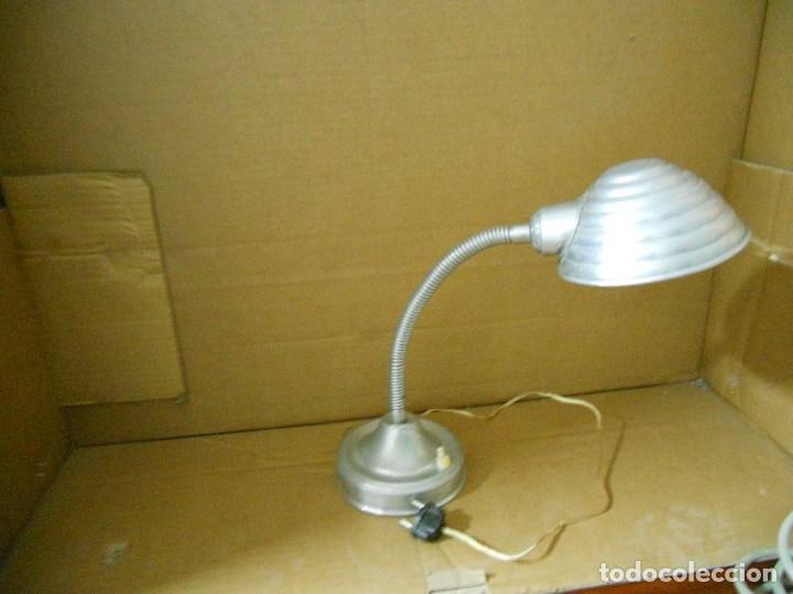 Vintage: ANTIGUA LAMPARA DE ESTUDIO, TIPO FLEXO ,FUNCIONANDO - Foto 5 - 95277543