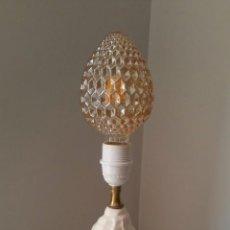Vintage: LAMPARA CON FORMA DE CONCHA MARINA CARACOLA - HISPANIA - FIRMADA . Lote 95518439