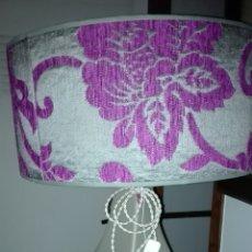 Vintage: LAMPARA DE MESA PORCELANA. Lote 95548866