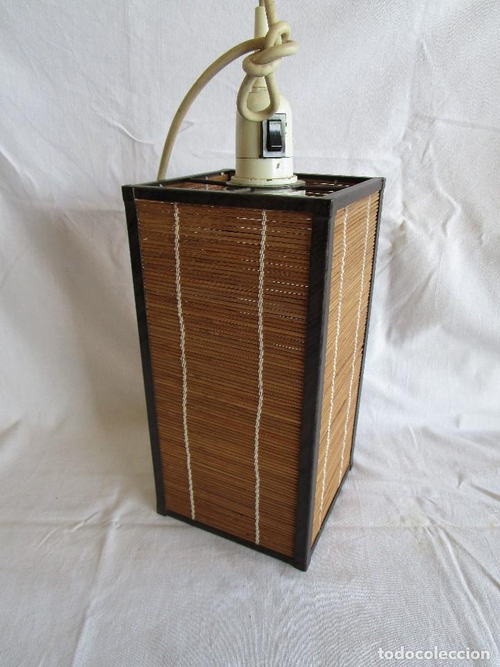LAMPARA TECHO VINTAGE (Vintage - Lámparas, Apliques, Candelabros y Faroles)
