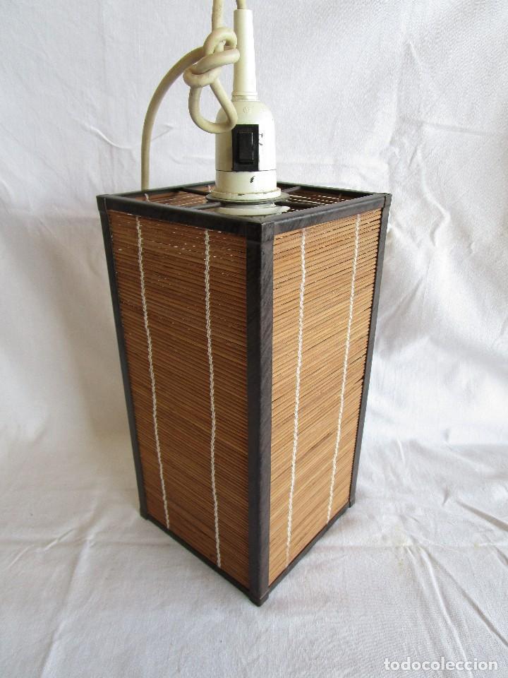 Vintage: lampara techo vintage - Foto 2 - 96228563