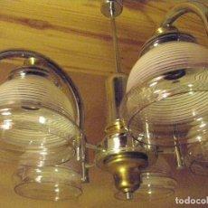 Vintage: LAMPARA DE TECHO 5 LUCES-. Lote 97076895