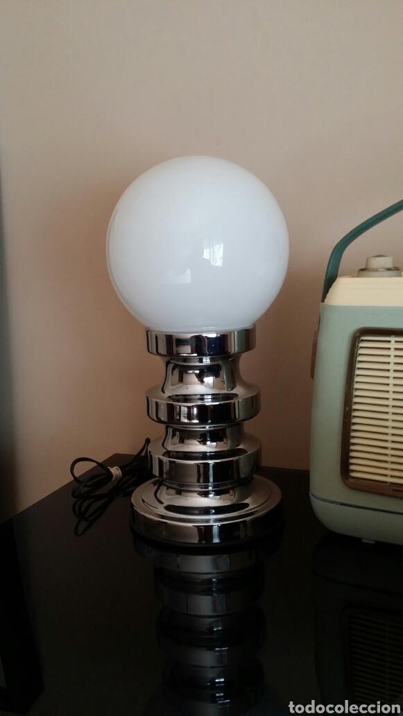 Vintage: Lámpara de sobremesa Space - Age - Foto 3 - 97436196