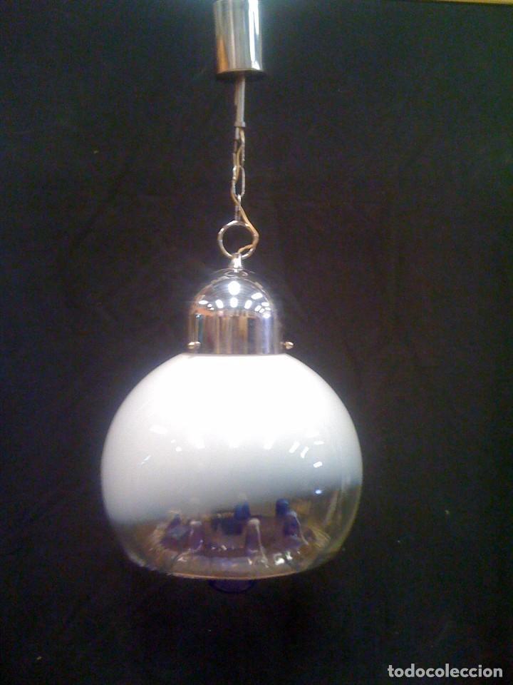 Vintage: lampara de techo años 70 - Foto 2 - 97607971
