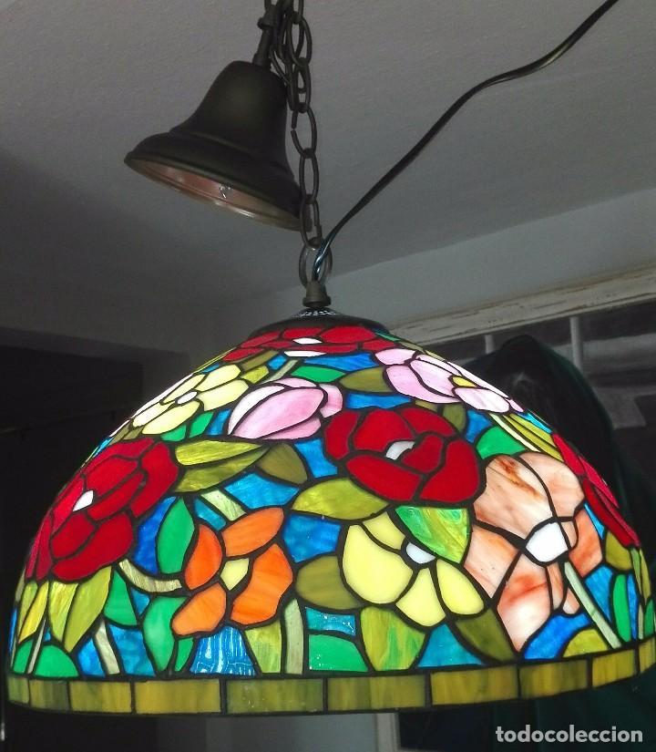 Vintage: Lampara de techo, vintage (Estilo Tiffany) - Foto 3 - 139026944