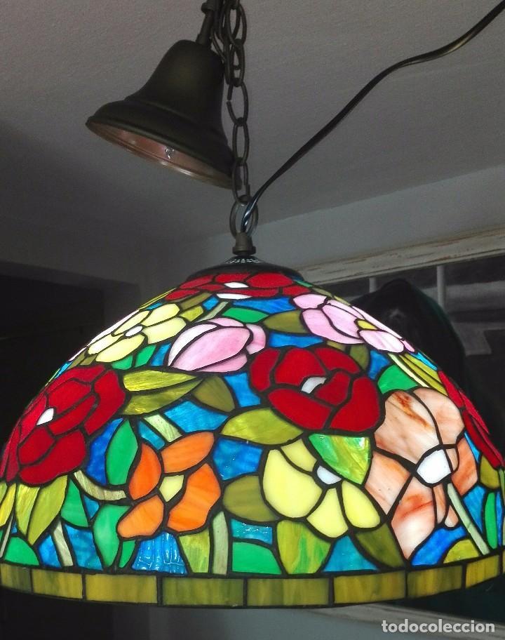 Vintage: Lampara de techo, vintage (Estilo Tiffany) - Foto 4 - 139026944