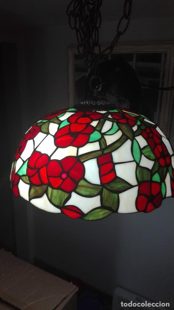 Vintage: Lampara de techo, vintage (Estilo Tiffany) - Foto 2 - 139027012