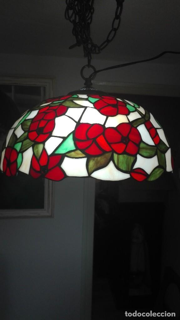 Vintage: Lampara de techo, vintage (Estilo Tiffany) - Foto 3 - 139027012