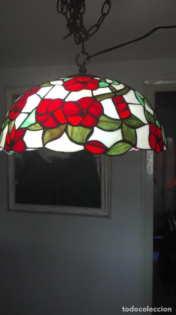 Vintage: Lampara de techo, vintage (Estilo Tiffany) - Foto 4 - 139027012