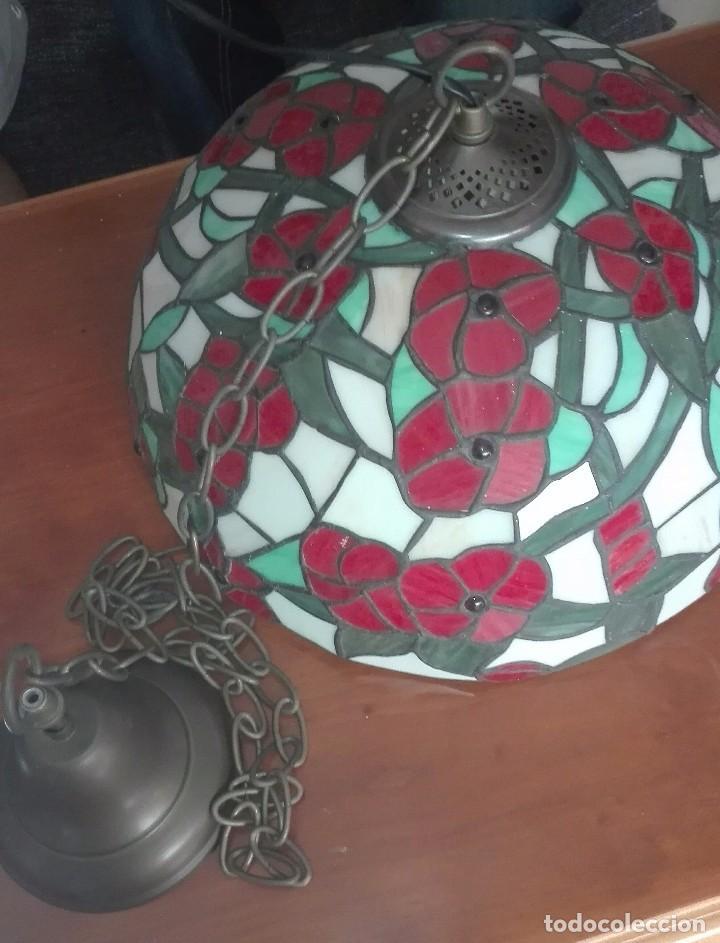 Vintage: Lampara de techo, vintage (Estilo Tiffany) - Foto 5 - 139027012