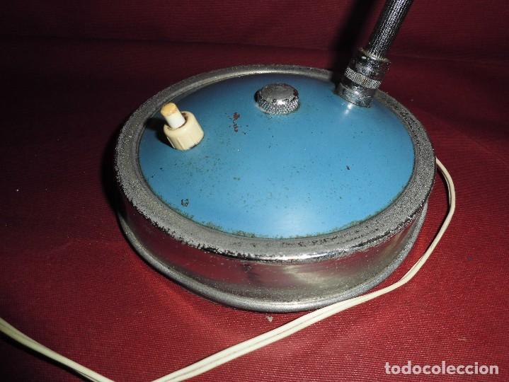Vintage: magnifica antigua lampara de sobremesa vintage años 50-60 - Foto 2 - 97809191