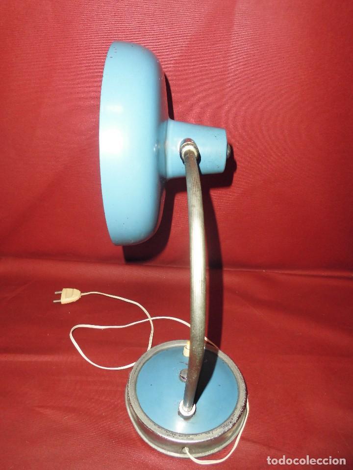 Vintage: magnifica antigua lampara de sobremesa vintage años 50-60 - Foto 5 - 97809191