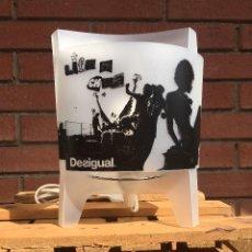 Vintage: LAMPARA MESA DESIGUAL. Lote 98007067