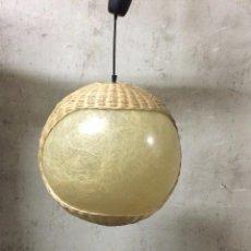 Vintage: LAMPARA DE TECHO VINTAGE 1970. Lote 98015827