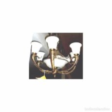 Vintage: LAMPARAS DE TECHO 6 BRAZOS. Lote 98039119