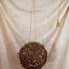 Vintage: LAMPARA DE NAVIDAD, DE COLGAR, CON MUCHAS BOMBILLITAS EN SERIE. Lote 98193783