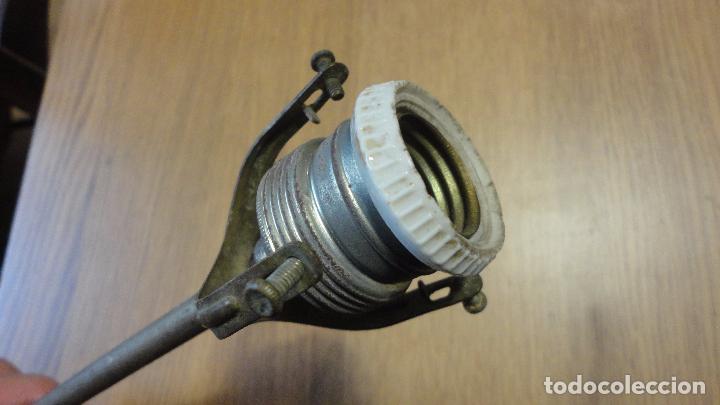 Vintage: ANTIGUA LAMPARA TULIPA METAL ESMALTADO.RETRO VINTAGE INDUSTRIAL.AÑOS 30,40 - Foto 10 - 99251503