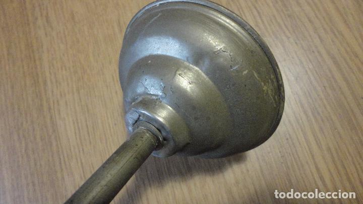 Vintage: ANTIGUA LAMPARA TULIPA METAL ESMALTADO.RETRO VINTAGE INDUSTRIAL.AÑOS 30,40 - Foto 13 - 99251503