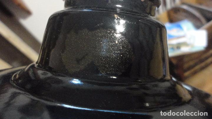 Vintage: ANTIGUA LAMPARA TULIPA METAL ESMALTADO.RETRO VINTAGE INDUSTRIAL.AÑOS 30,40 - Foto 16 - 99251503