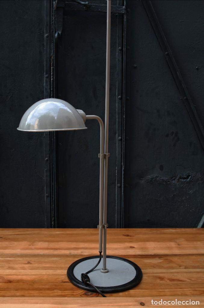 Lampara de pie industrial altura regulable dise comprar l mparas vintage apliques - Lampara de pie vintage ...