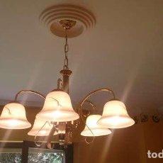 Vintage: LAMPARA TECHO 5 BRAZOS . Lote 99645791