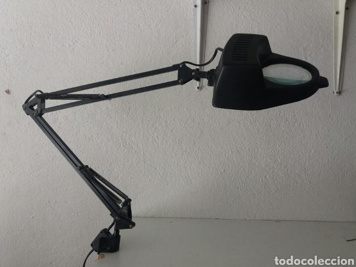 de vintage lupa articulada Bonita mesa lampara T3lcFK1J