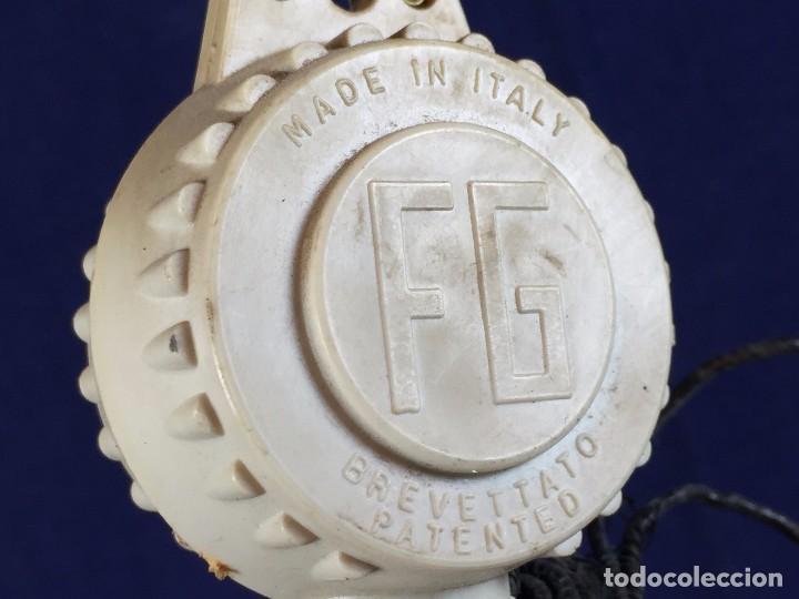 Vintage: lampara techo laton plateado semiesfera era espacial fratelli giannelli firenze italia sube baja - Foto 9 - 100919255