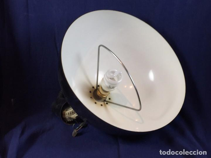Vintage: lampara techo laton plateado semiesfera era espacial fratelli giannelli firenze italia sube baja - Foto 11 - 100919255